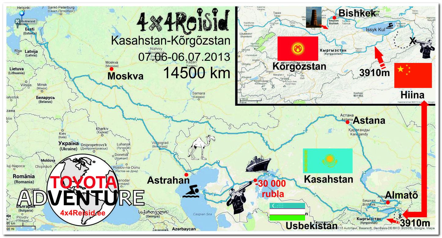 KZKGZkaart